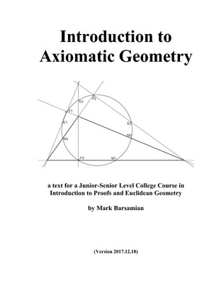 Introduction to Axiomatic Geometry